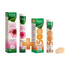 Picture of POWER HEALTH ECHINACEA EXTRA 24S & ΔΩΡΟ VITAMIN C 500mg 20S